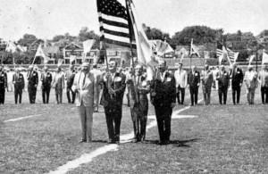 1965 Color Guard Broom Drill