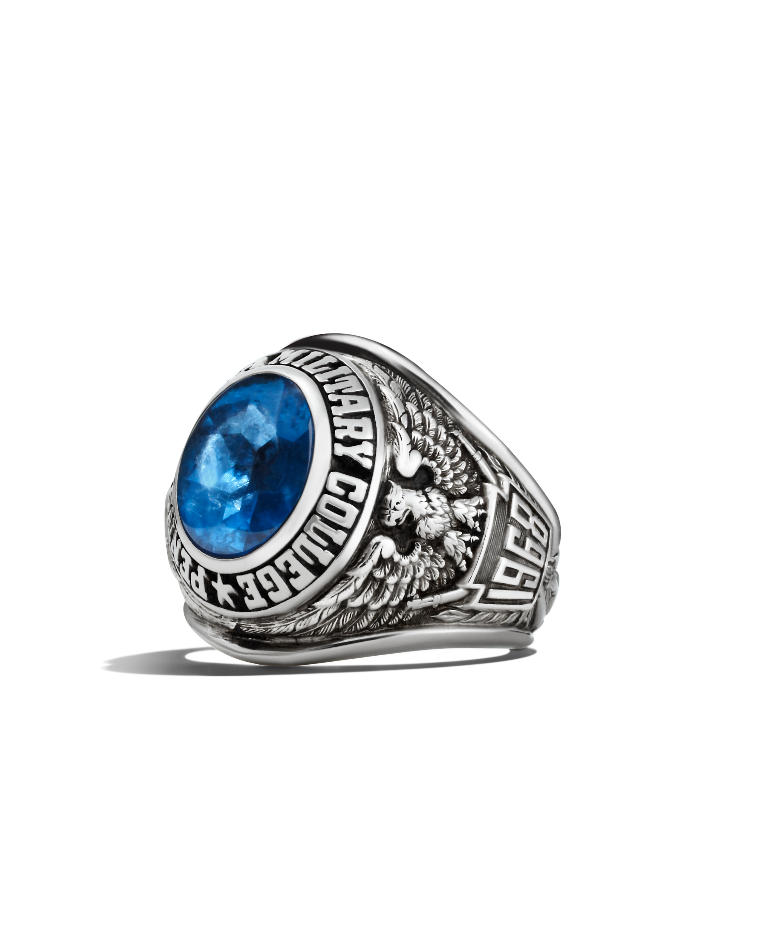 Symbolism of the class ring pennsylvania military college ring profile buycottarizona Image collections