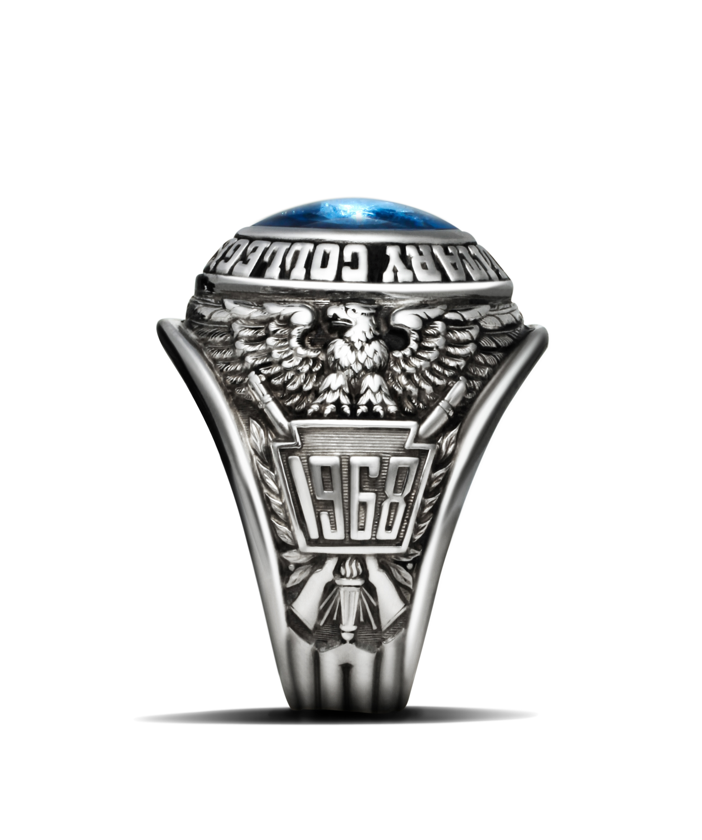 Symbolism of the class ring pennsylvania military college ring side b buycottarizona Image collections