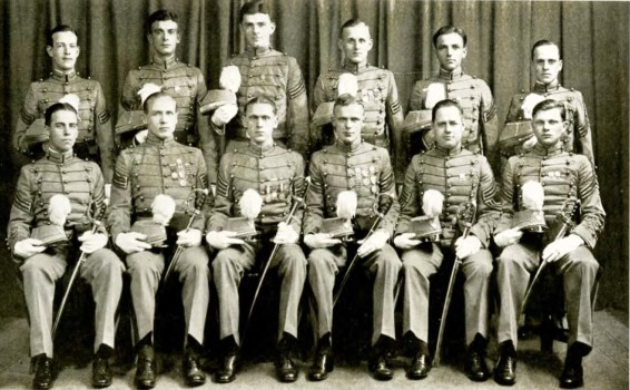 From Left to Right Back Row: Arthur French, John Widdoes, James Macaulay, Harry Bauer, Charles Gibb, Herbert Hardican Front Row: Edward Northrop, George Bauer, Hurt Hackett, J. Russel Sackett, Paul Blake, Herman Neuweiler