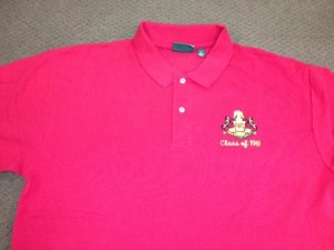 Red Polo PMC shirt