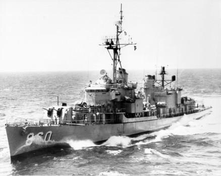 USS McCaffrey DD 860