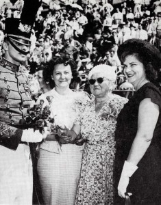 1961 Roses presented